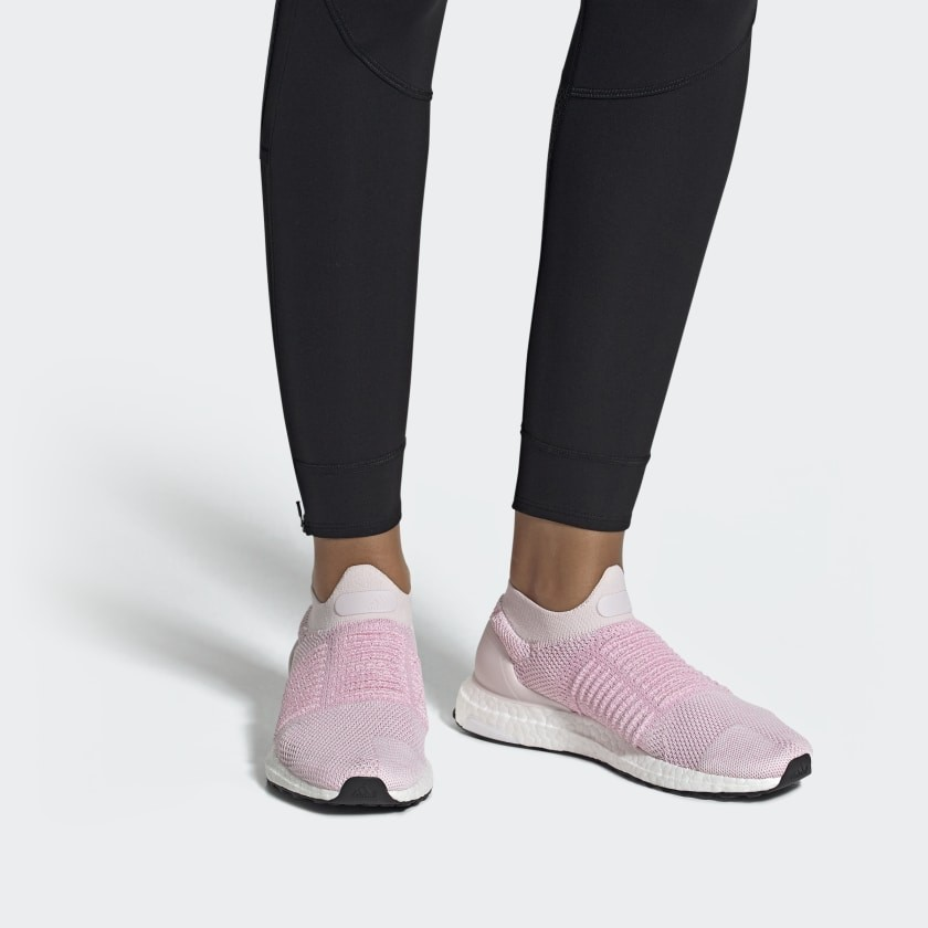 Femme UltraBoost Laceless 'Orchid Tint
