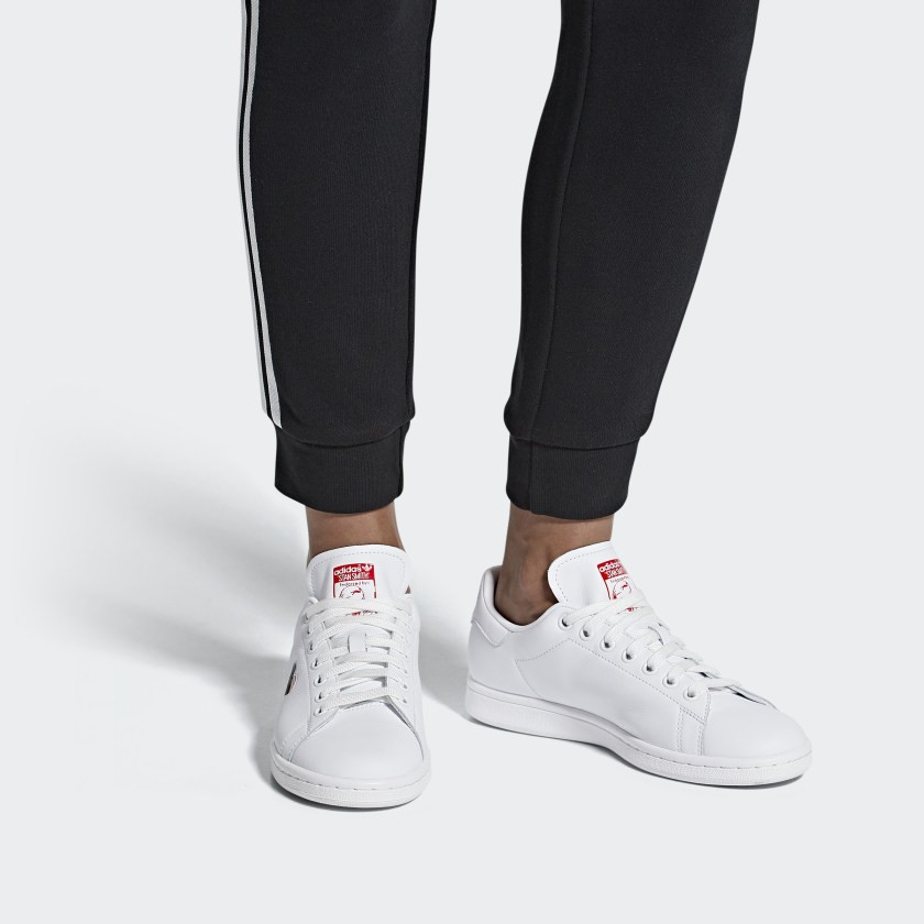 adidas stan smith w g27893 sneakers basses femme