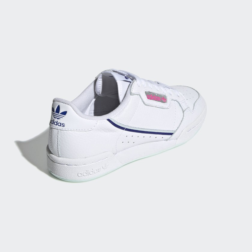 lower price with super popular newest collection Adidas Continental 80 Blanche Ice Mint Femme - G27725