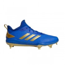 Adizero Afterburner V Cleats Collegiate Royal/Or Metallic/Noir CG5221