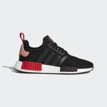 NMD_R1 Chaussures Noir/Tactile Rose/Bold Rouge D97088