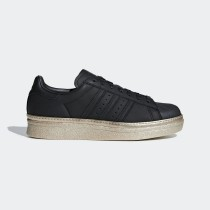 Adidas Superstar 80s New Bold Femme (Noir/Or) - B28041
