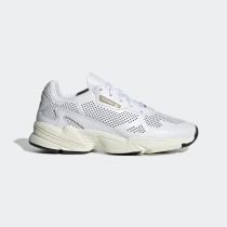 Femme Adidas Originals Falcon Alluxe Chaussures Blanche/Blanche DB3357