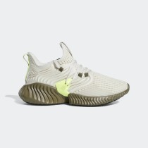 Alphabounce Instinct Clima Chaussures Raw Blanche/Blanche/Raw Kaki F36764