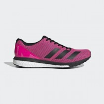 adidas Adizero Boston 8 Wide Chaussures - Rose - F34059