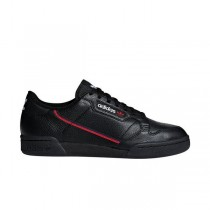 """Adidas Continental 80 """"Noir/Blanche"""" Homme' Chaussures"""