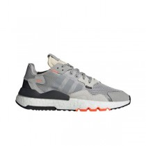 Adidas Nite Jogger Gris Two Solar Orange - DB3361