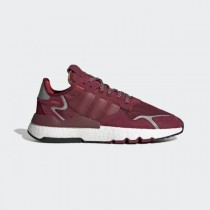 adidas Nite Jogger Chaussures - Bordeaux - EE5870