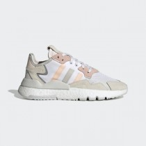adidas Nite Jogger Chaussures - Blanche - EG9199