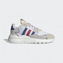 adidas Nite Jogger Chaussures - Blanche - FV3586