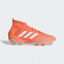 adidas Predator 19.1 Firm Ground Cleats - Orange - G25820