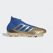 adidas Predator 19+ Firm Ground Cleats - Or - F35610