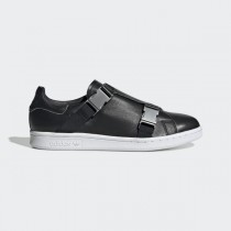 adidas Stan Smith Buckle Chaussures - Noir - EE4888