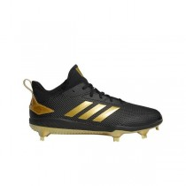 Adizero Afterburner V Cleats Noir/Or Metallic/Or Metallic CG5223