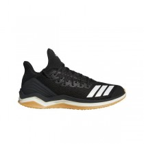 "Adidas Icon 4 Trainer ""Noir/Blanche"" Homme Baseball Chaussures"