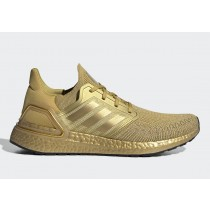 "Adidas Ultra BOOST 20 ""Metallic Gold"" EG1343"