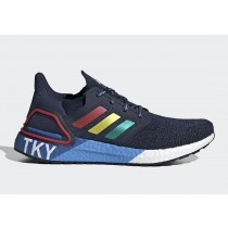 "Adidas Ultra BOOST 20 ""City Pack"" Tokyo Collegiate Marine/Glory Rouge/Shock Jaune FX7811"
