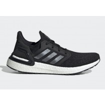 "Adidas Ultra Boost 2020 ""Noir"" Noir/Night Metallic/Blanche EF1043"