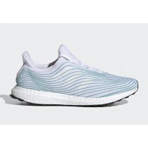 Parley x Adidas Ultra Boost Uncaged Blanche/Vert EH1173