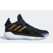 "Adidas Dame 6 ""Dame 3:16"" Noir/Gold Metallic/Team Royal Bleu FU0447"