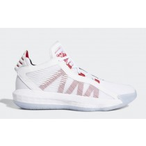 "Adidas Dame 6 ""Dame Time"" Blanche/Rouge/Noir EH2069"