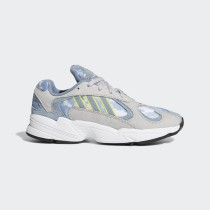 Adidas Yung-1 Chaussures Gris Two/Raw Gris/Shock Jaune EF2778