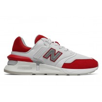 New Balance 997S MS997V1-28702 Munsell Blanche/Team Rouge