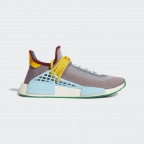 Adidas HU NMD Chaussures Legacy Pourpre/Off Blanche/Lumière Aqua G58412