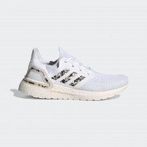 Adidas UltraBoost 20 GLAM PACK Chaussures Cloud Blanche/Rose Tint/Core Noir FW5721
