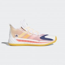 Adidas Pro Boost Low Chaussures Cloud Blanche/Solar Or/Signal Orange FW8653