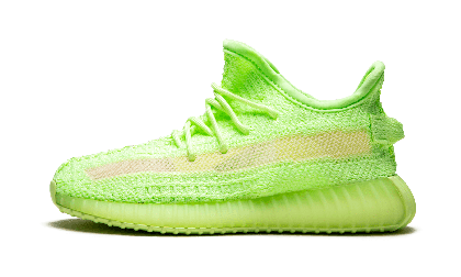 "Adidas Yeezy Boost 350 V2 GID Infant ""Glow in the Sombre"" - EG6887"