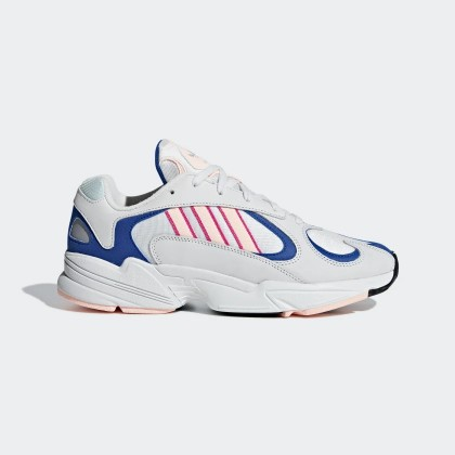 Adidas Yung-1 Blanche Orange Royal - BD7654