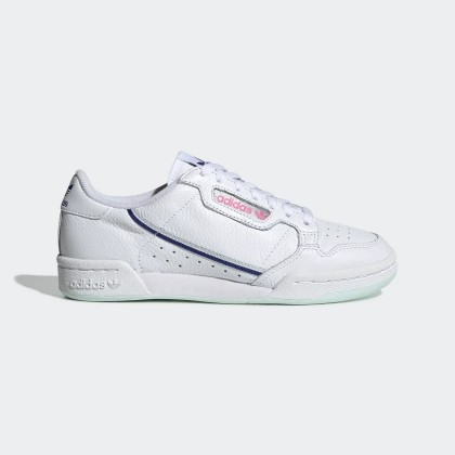 vast selection separation shoes sold worldwide Adidas Continental 80 Blanche Ice Mint Femme - G27725