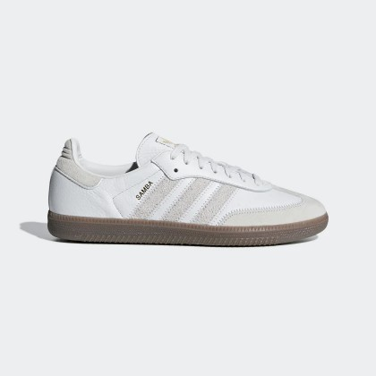 Samba OG FT Chaussures Crystal Blanche/Raw Blanche/Or Metallic BD7527