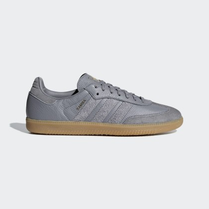 Adidas Samba OG FT Gris Three/Or - BD7963