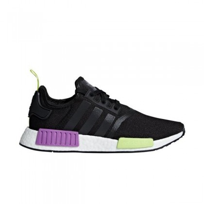 "Adidas NMD_R1 ""Noir/Pourpre"" Homme Chaussures"
