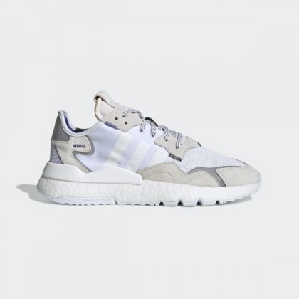 adidas Nite Jogger Chaussures - Blanche - EE5885