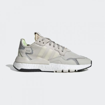 adidas Nite Jogger Chaussures - Blanche - EE5917