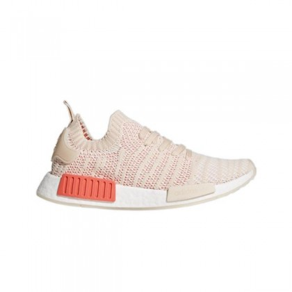 """Adidas NMD_R1 STLT """"Linen/Crystal Blanche"""" Femme Chaussures"""