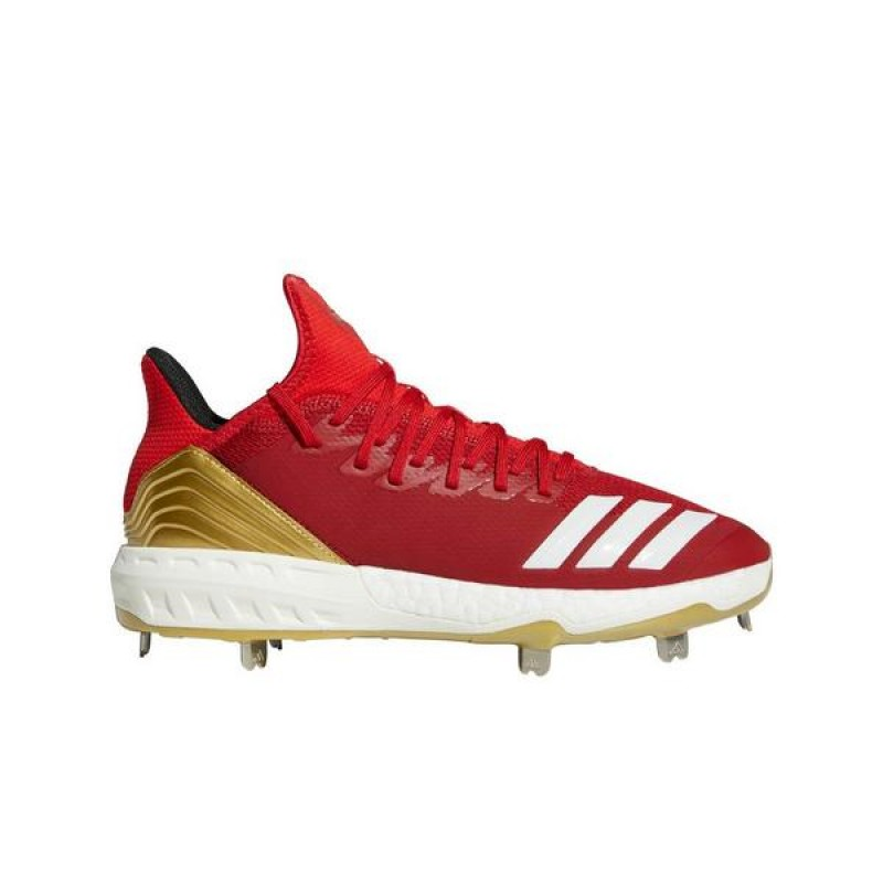 "Adidas Icon 4 ""Rouge"" Homme Baseball Cleat"