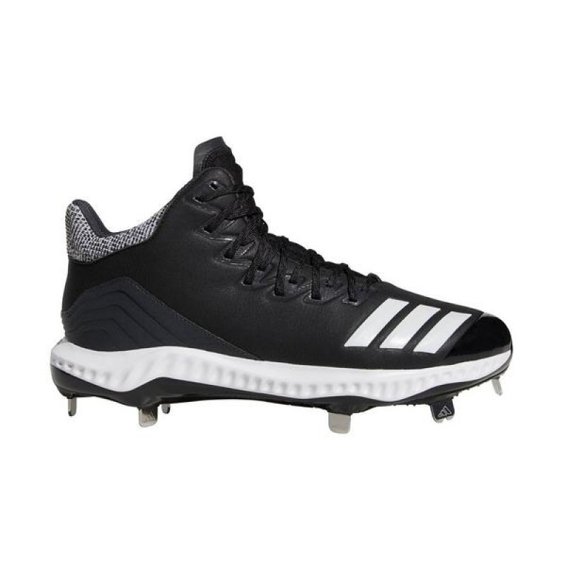 Icon Bounce Mid Cleats Noir/Blanche/Carbon CG5179