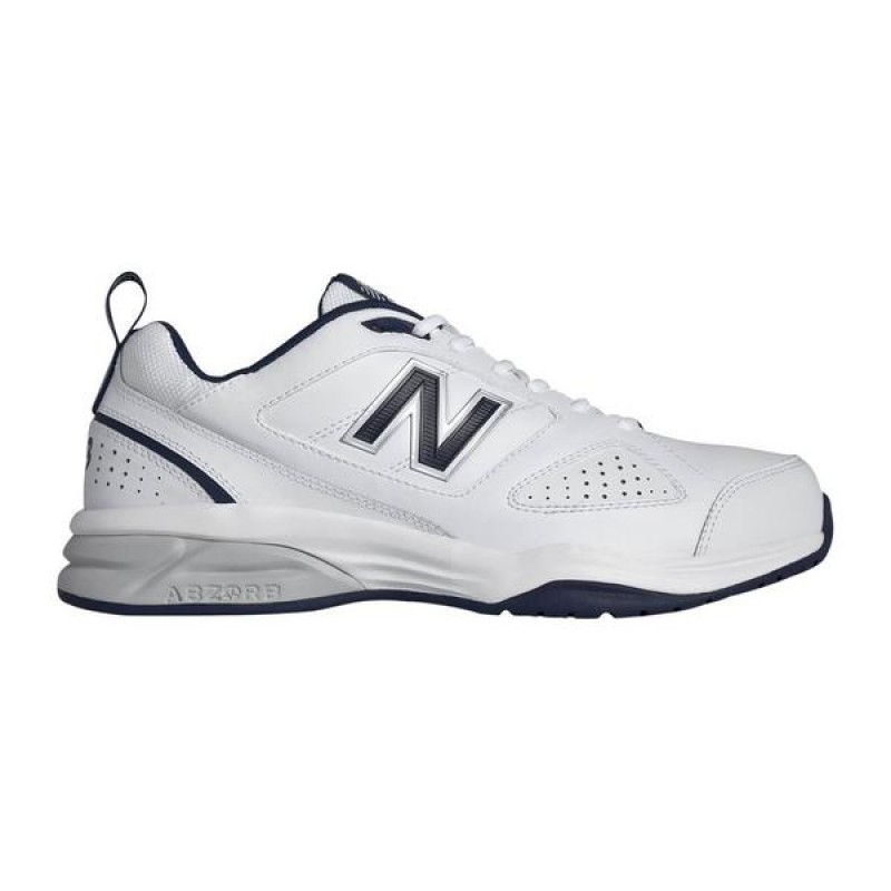 "New Balance Homme 623 ""Blanche/Marine"" Training Chaussures"