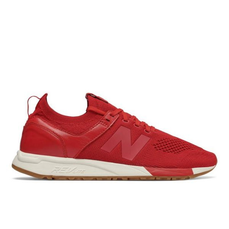 "New Balance 247 ""Rouge/Blanche"" Homme Baskets"