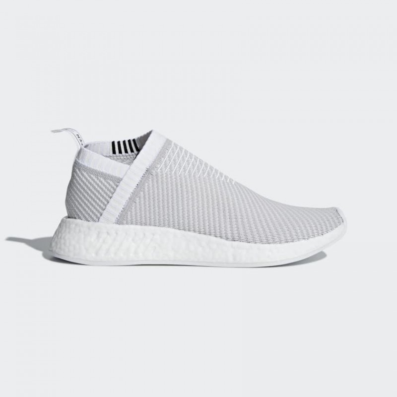 Adidas NMD CS2 Blanche Gris Two - D96743