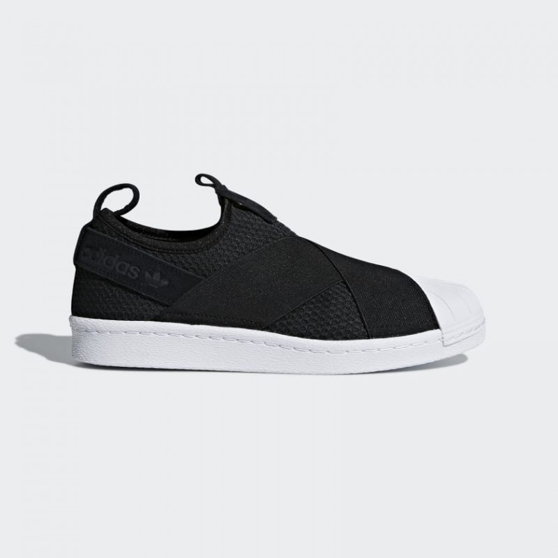 Adidas Originals Femme Superstar Slip On | Noir | Chaussures | B37193