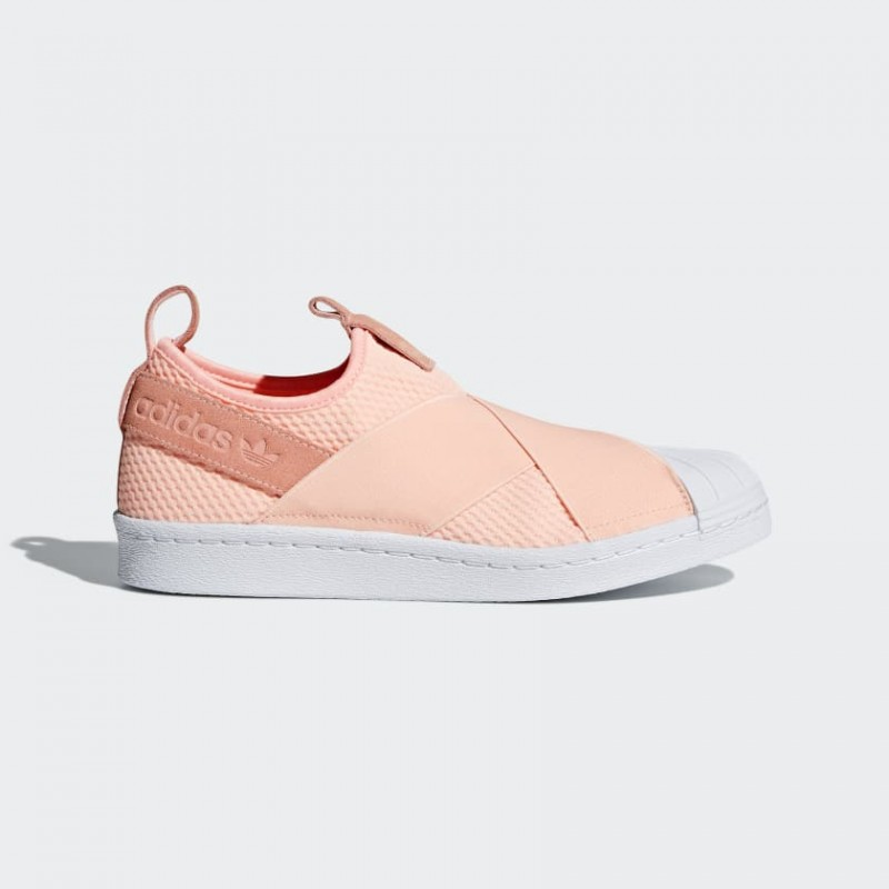 Adidas Superstar Slip-On Clear Orange Femme - AQ0919