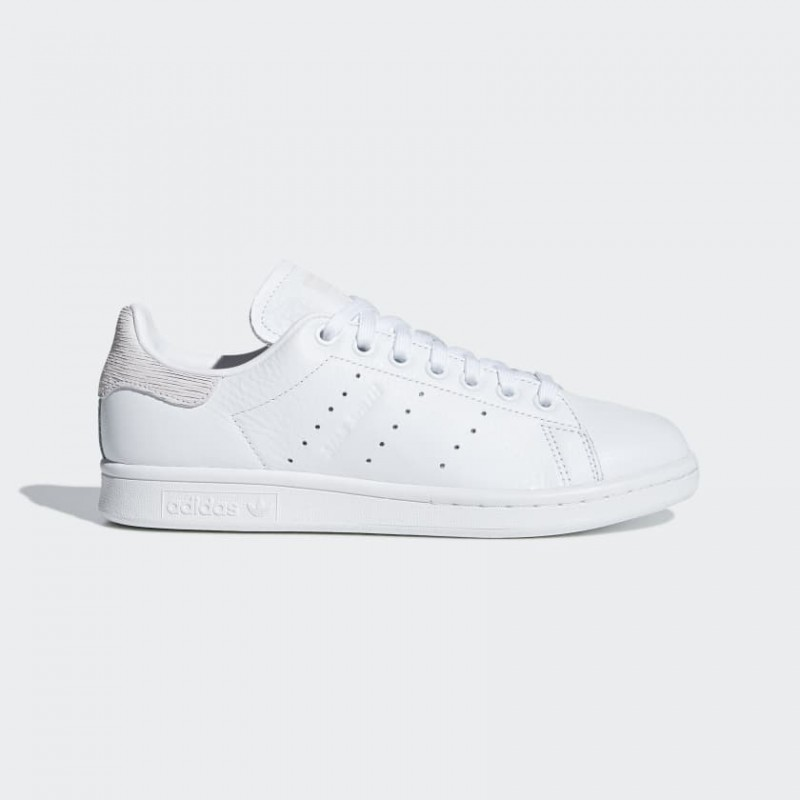Stan Smith Chaussures Blanche/Blanche/Orchid Tint B41625