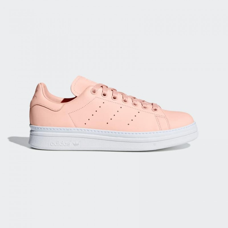 Stan Smith New Bold Chaussures clear orange/clear orange/Blanche B37361