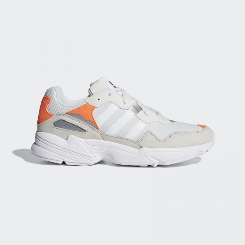 Adidas Yung-96 Blanche Orange - F97179