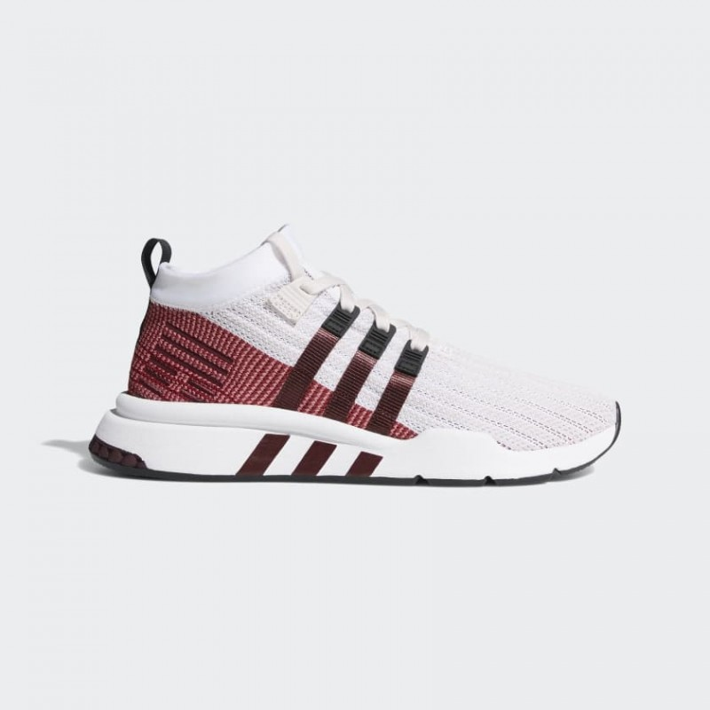 EQT Support Mid ADV Primeknit Chaussures Orchid Tint/Blanche/Maroon B37428